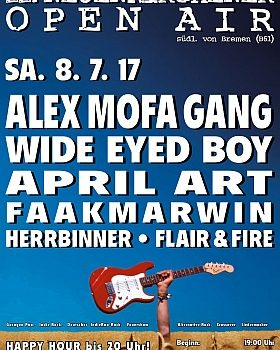 Plakat Neuenkirchener Open Air 2017