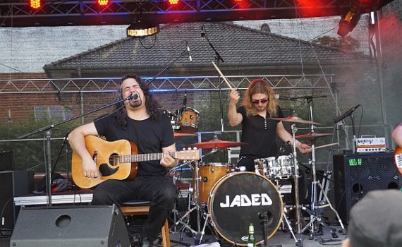 "The Heavy Hitters bei ""Rock das Ding"" 2016 in Balge"